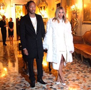Ciara-and-Future-during-Milan-Fashion-Week