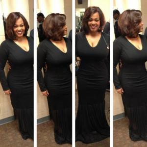 Jill Scott Weight Loss club gown