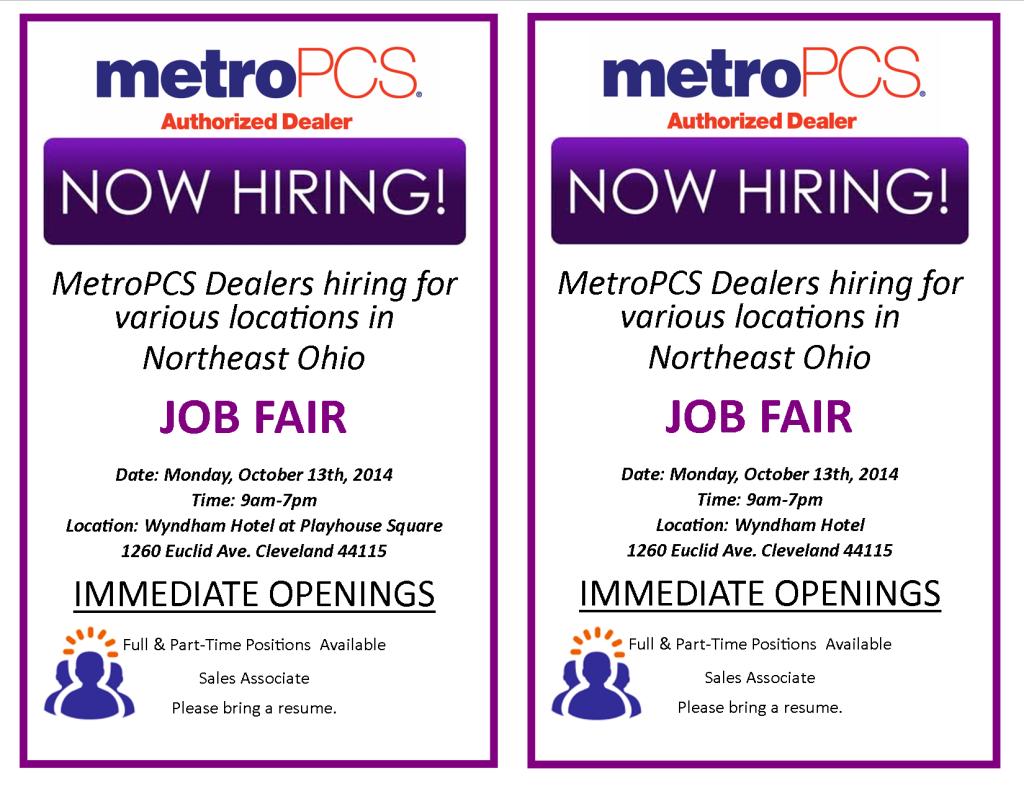 MetroPCS Job Fair | Z 107.9