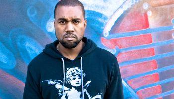 Kanye West Visits 97.1 AMP Radio