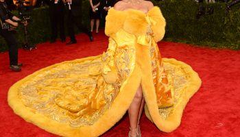 Celebrities arrive for the 2015 Met Gala