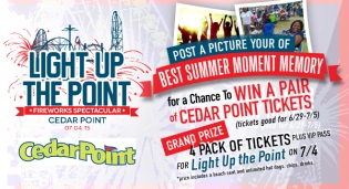 Cedar Point Light Up The Point