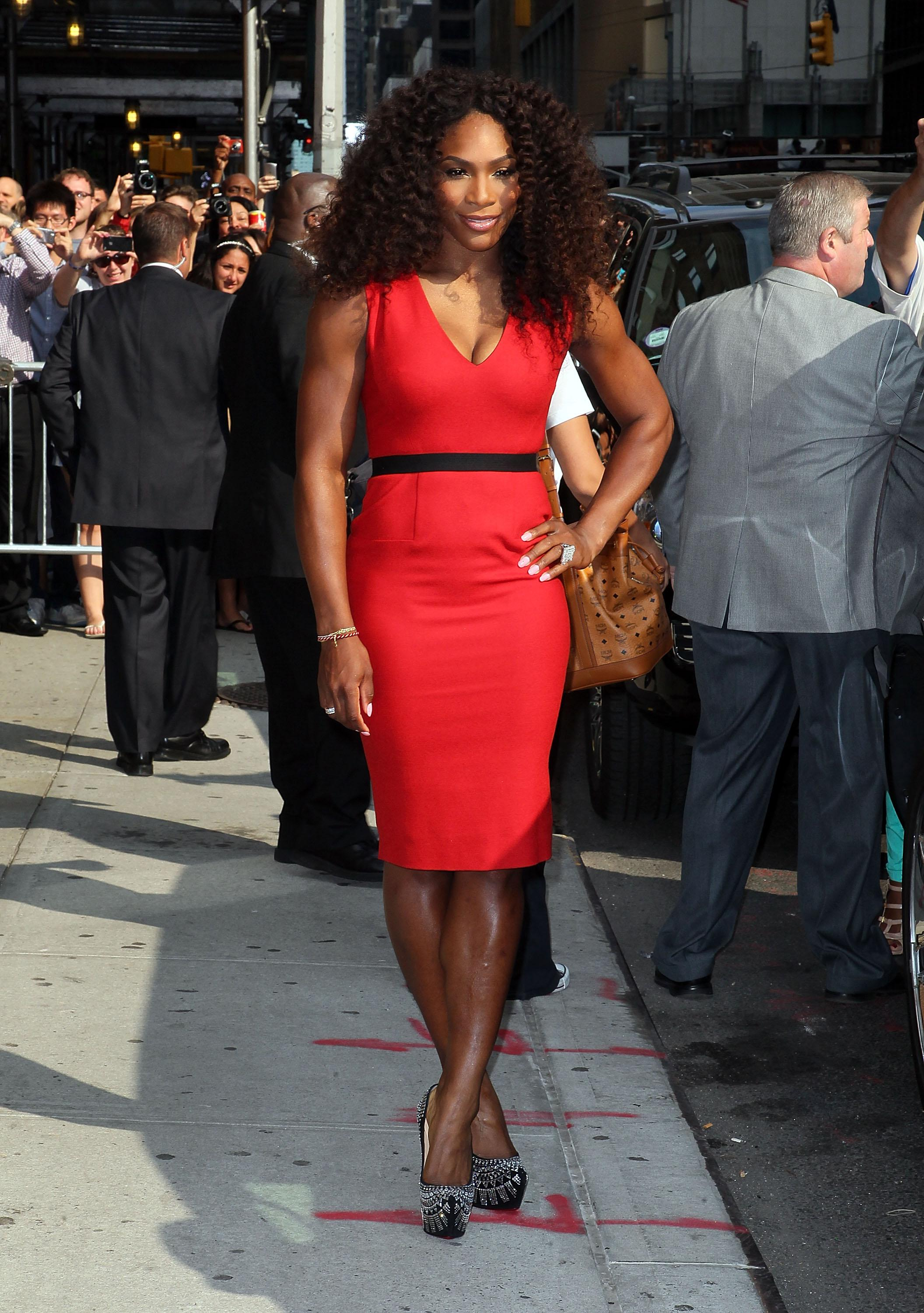 Celebrities Visit 'Late Show With David Letterman' - August 22, 2012