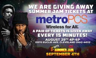 Metro PCS Summer Jam Giveaway