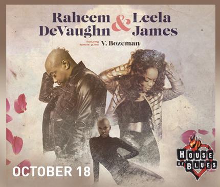 Raheem DeVaughn Live in Cleveland