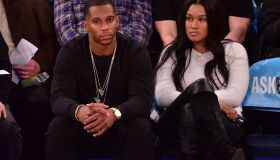 Celebrities Attend Golden State Warriors Vs New York Knicks Game - February 07, 2015