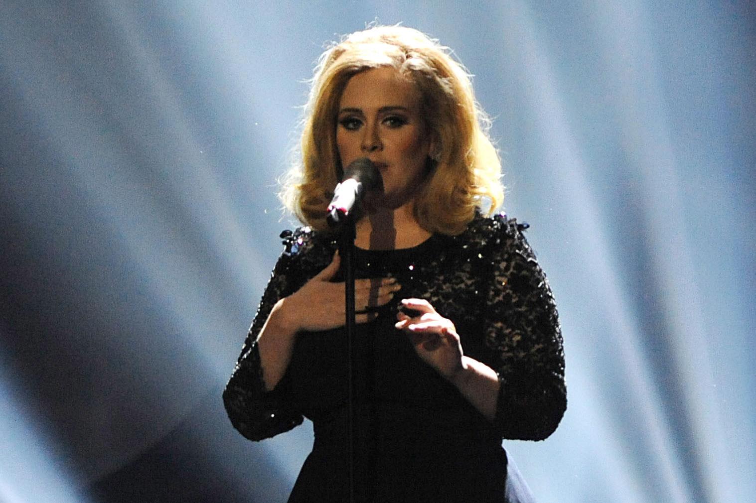 The Brit Awards, Show, O2 Arena, London, Britain - 21 Feb 2012