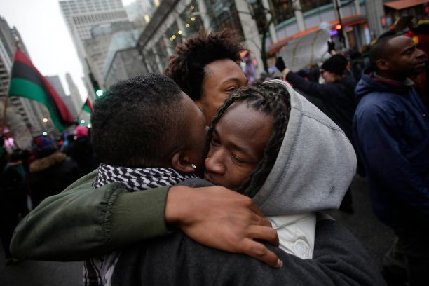 Protests Continue On Chicago After Release Of Video Of Police Fatally Shooting Teen