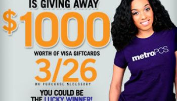 3/26 MetroPCS 1000 giveaway