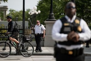 Shooting Near White House In D.C.