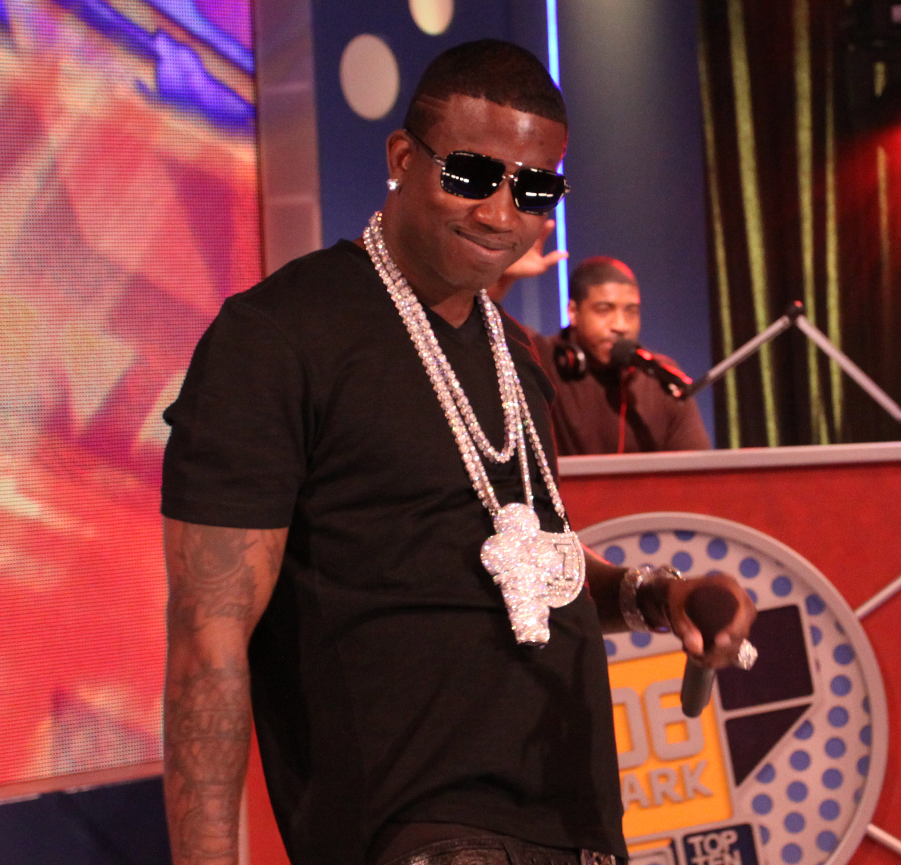 Gucci Mane Visits BET's 106 & Park - June 1, 2010