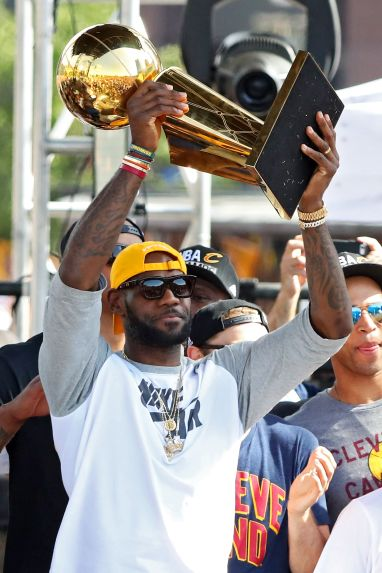 "3b9f2386e3e6 Cleveland Cavaliers Parade Kyrie Irving  ""There was a reason why all ..."