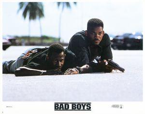 Lobby Card For 'Bad Boys'