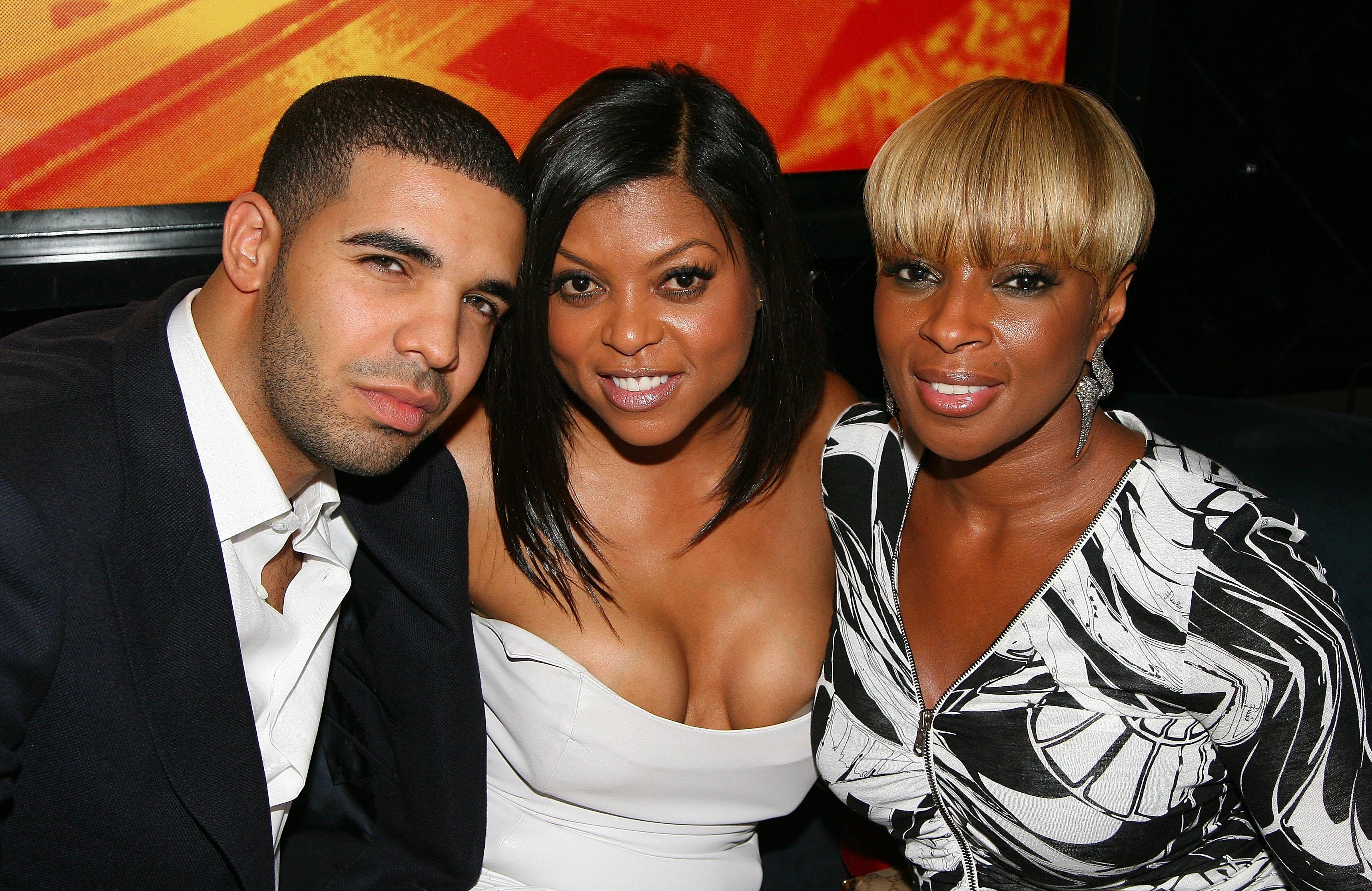 Drake, Taraji P Henson, Mary J Blige