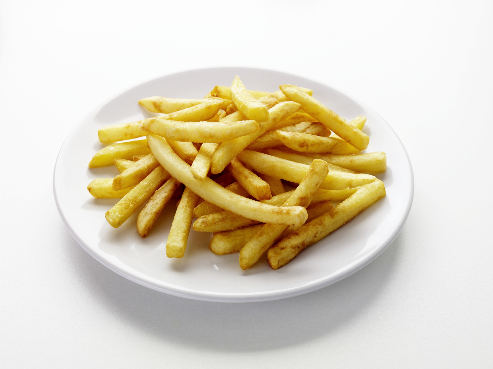 A plate of chips