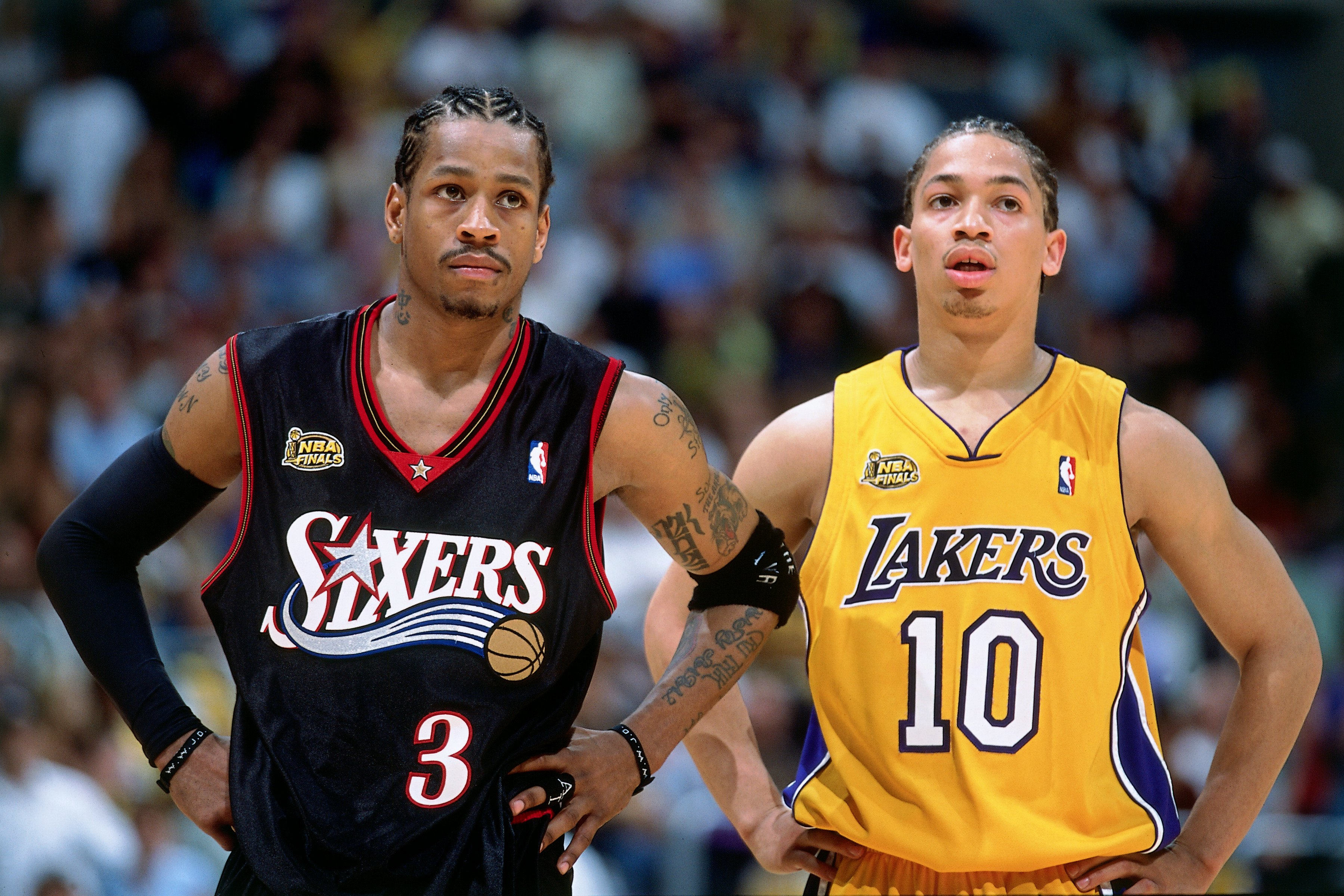 2001 NBA Finals: Philadelphia 76ers vs. Los Angeles Lakers