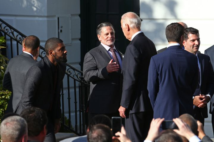 Cleveland Cavaliers White House Visit 2016