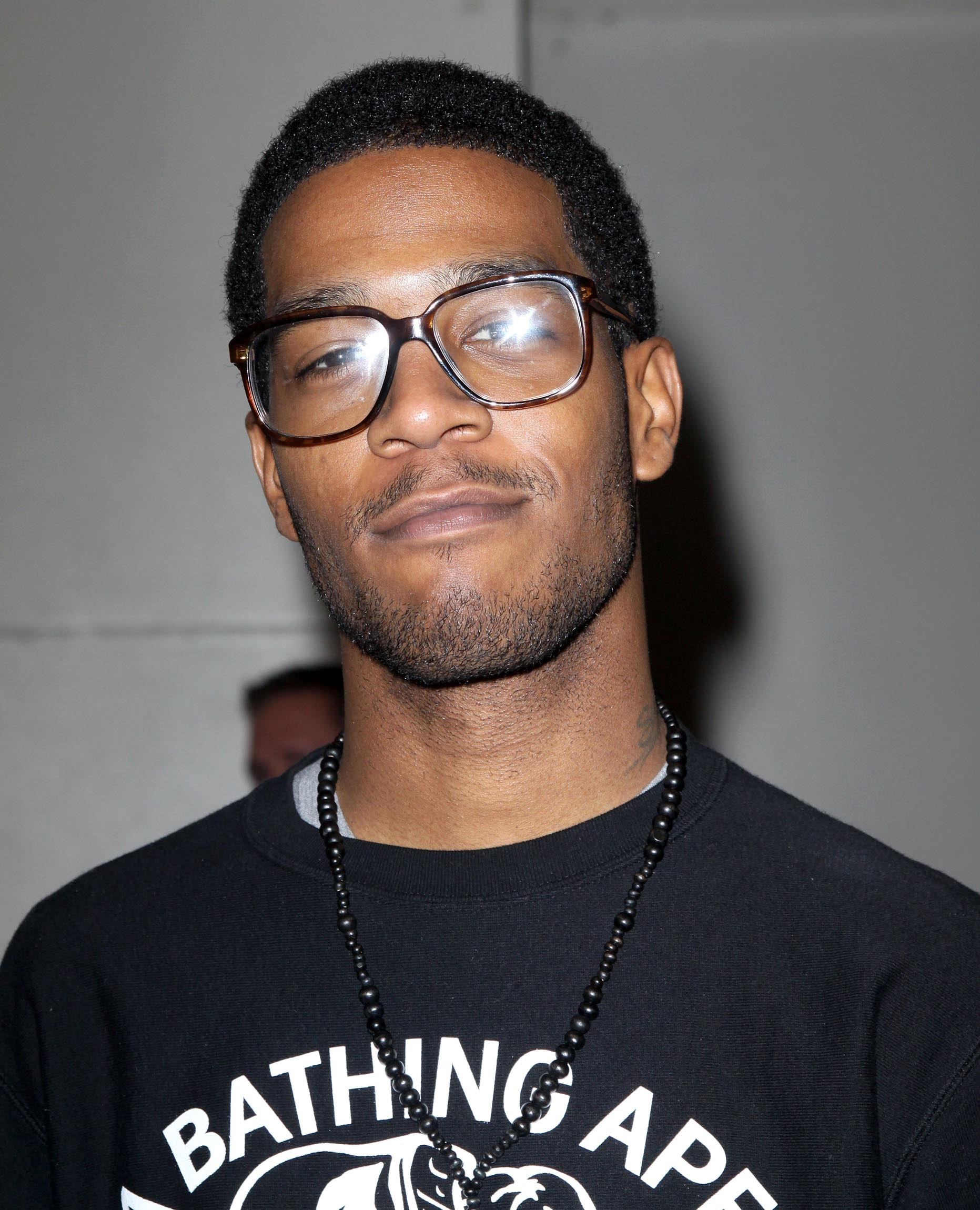 KID CUDI AT AN MTV SHOW