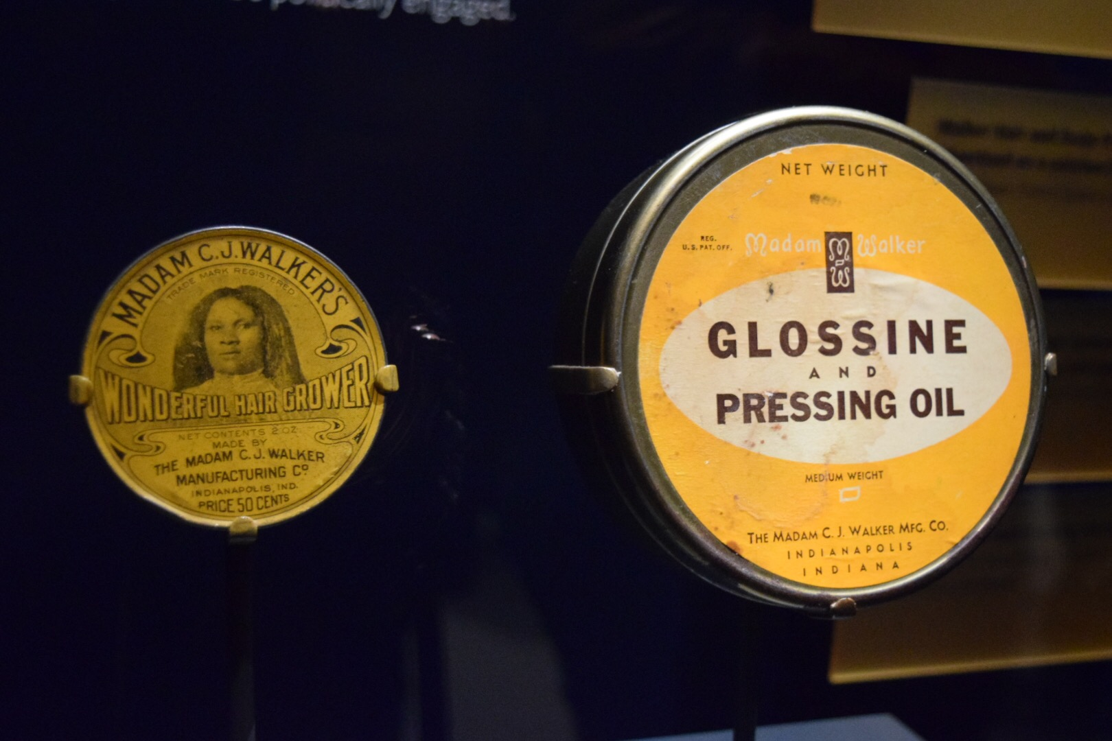 Madam C.J. Walker Pressing Oil