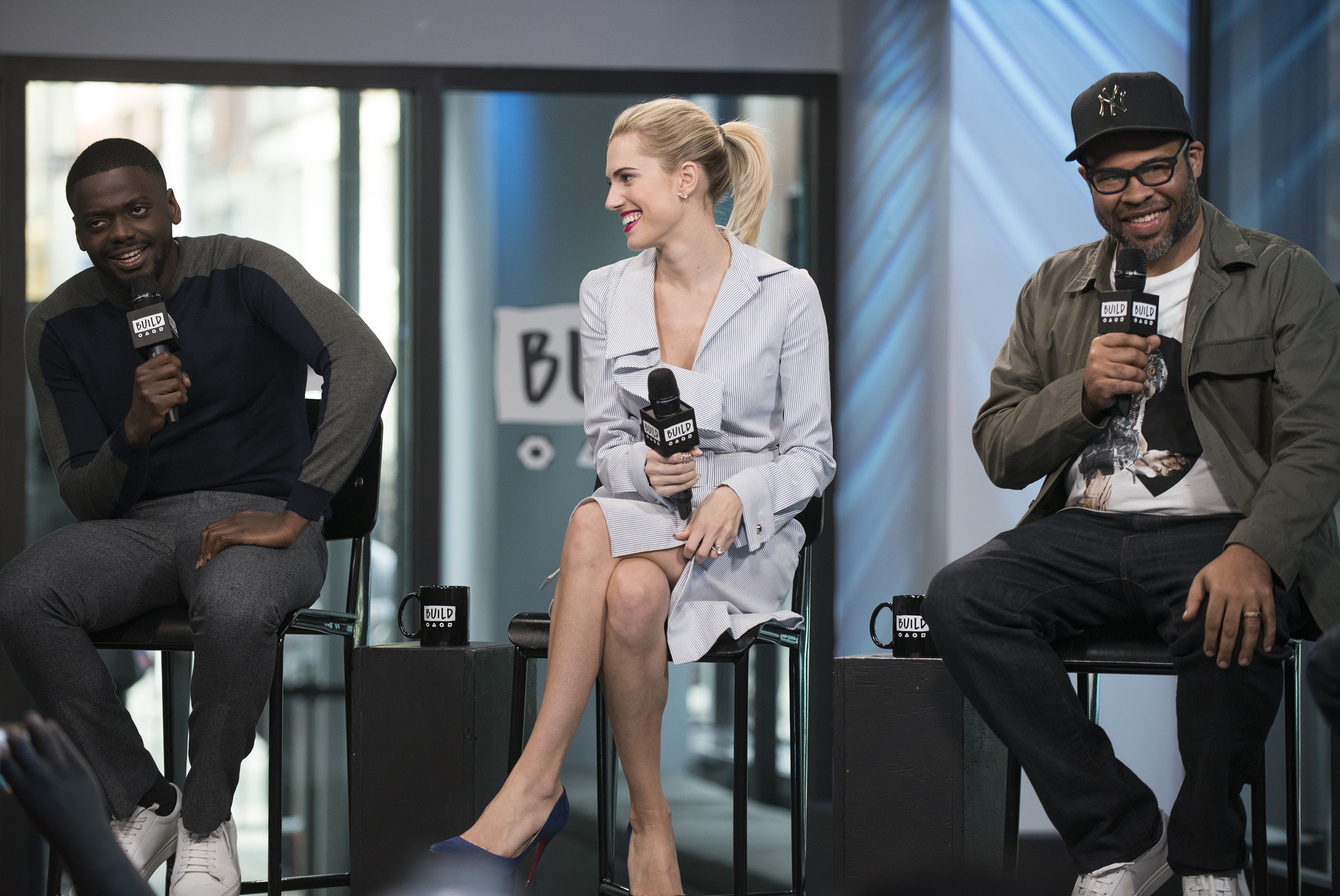 Build Series Presents Jordan Peele, Allison Williams and Daniel Kaluuya Discussing 'Get Out'