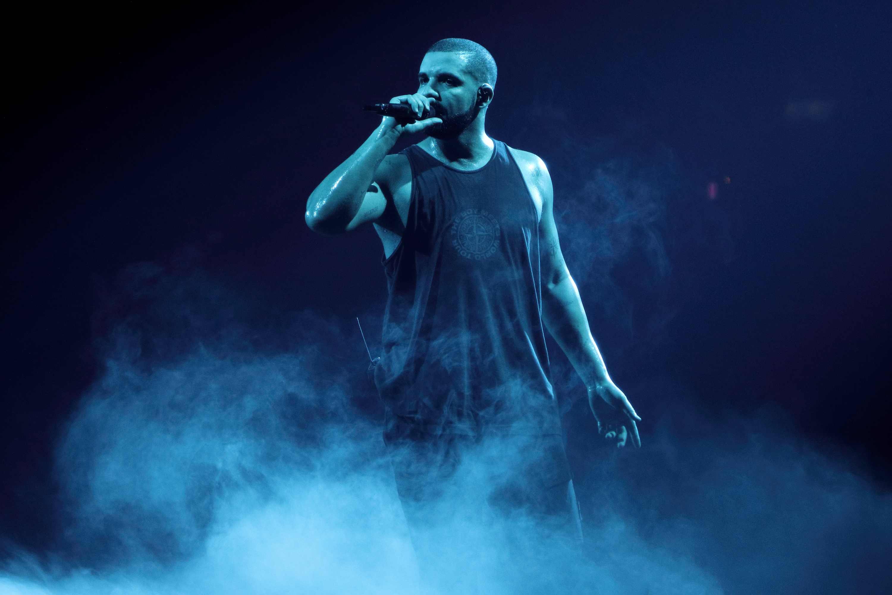 Drake Performs At O2 Arena
