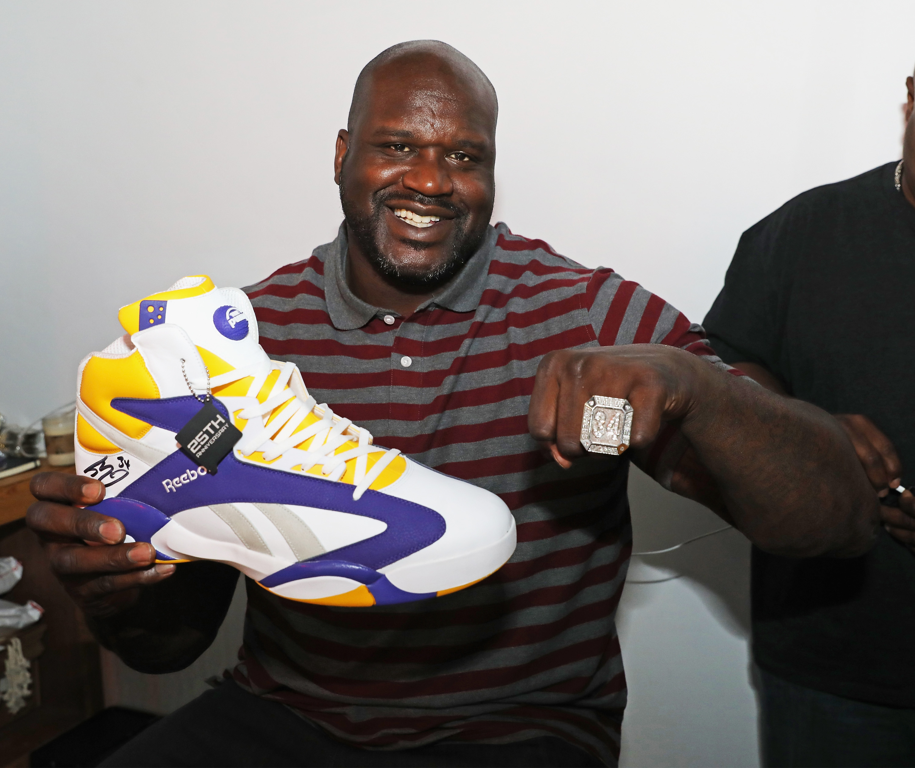 Reebok Classic And Shaquille O'Neal Launch The New Shaq Attaq x Sneaker Politics