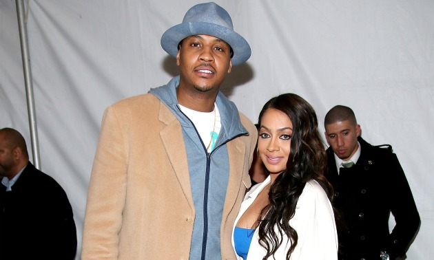 Carmelo Anthony & LaLa