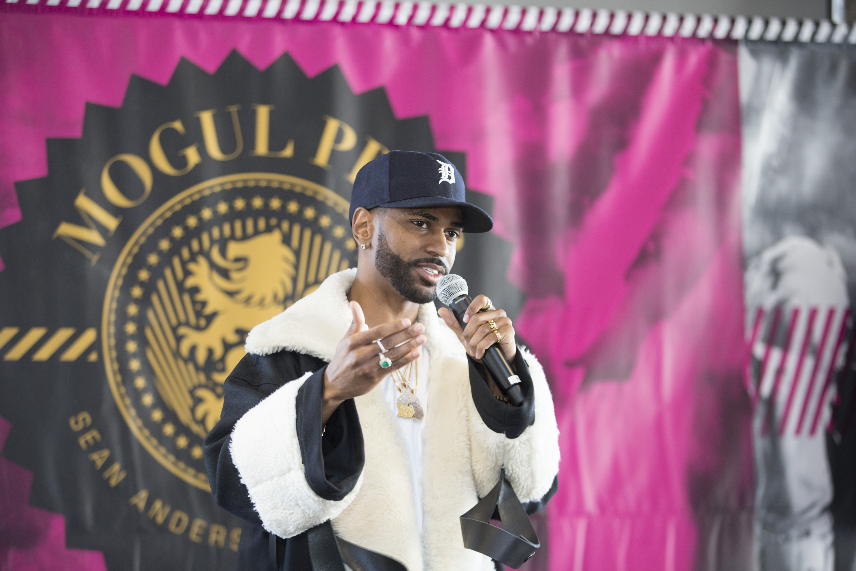 Big Sean's Mogul Prep Event