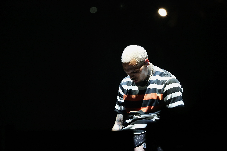 Chris Brown In Concert - Newark, New Jersey