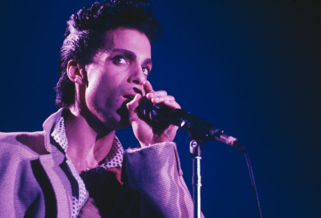Prince Live On Stage