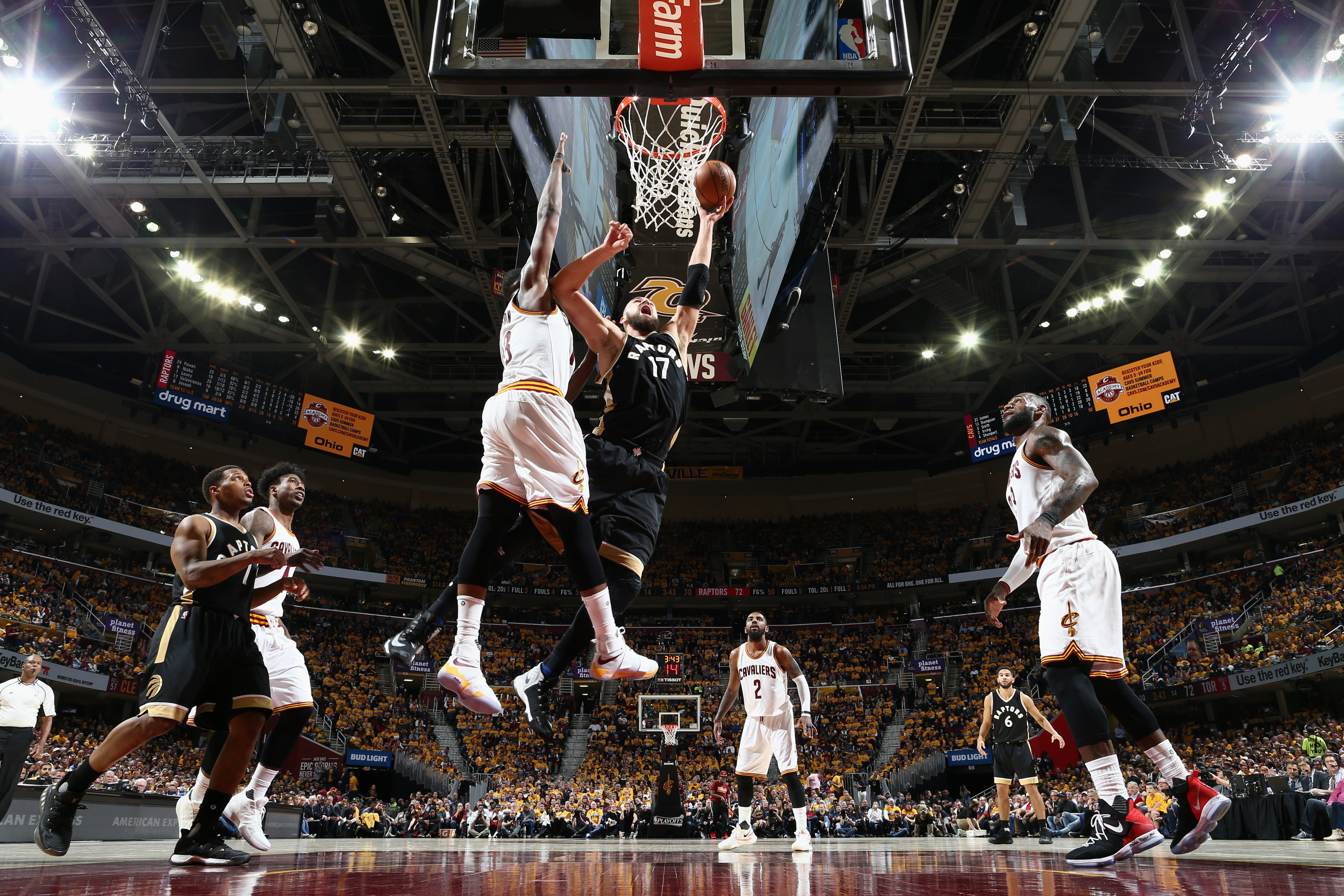 Toronto Raptors v Cleveland Cavaliers - Game Two