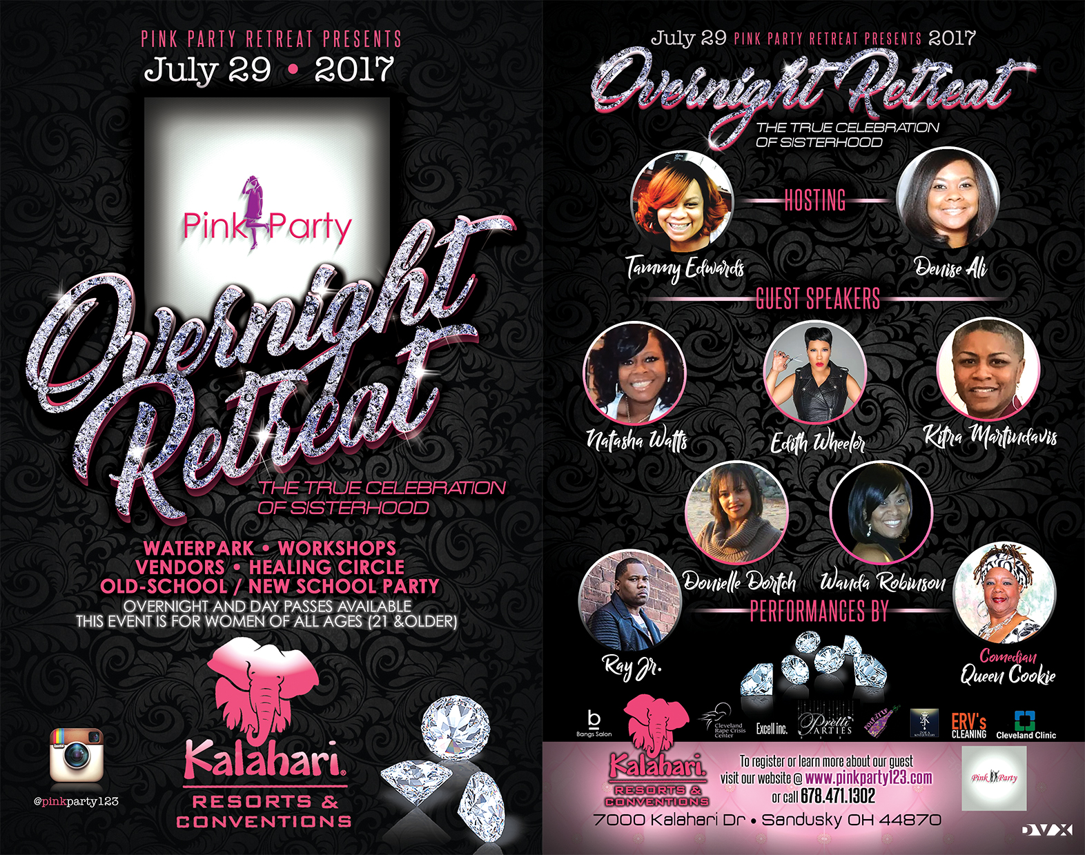 Pink Party Overnight Retreat