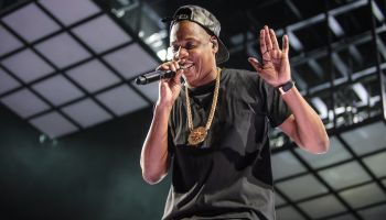 Jay Z Performs at the Verizon Center in Washington, D.C.