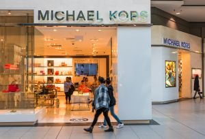 MIchael Kors store in Eaton Center. The brand is an American...