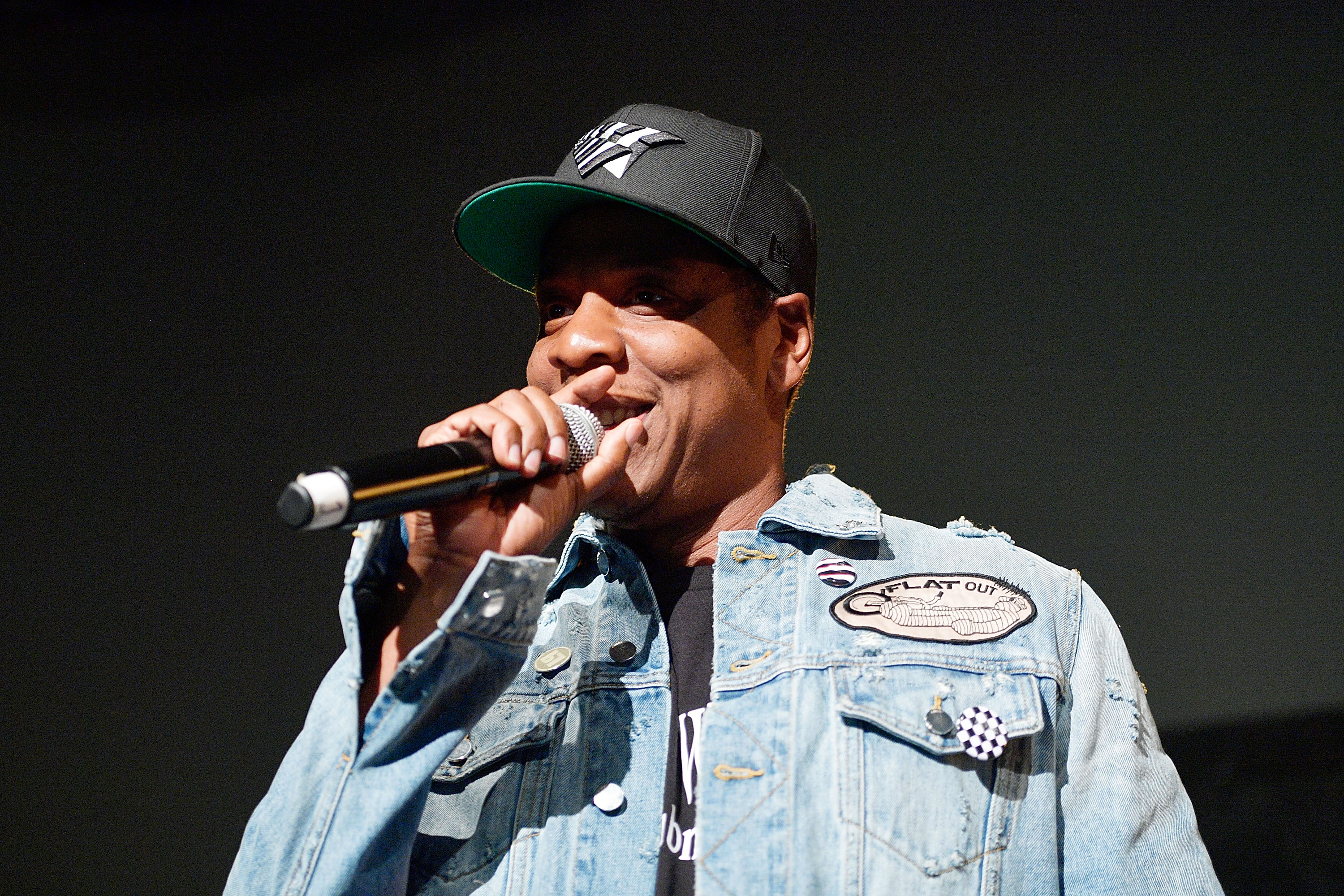 Jay-Z Introduces Vic Mensa At Mack Sennett Studios