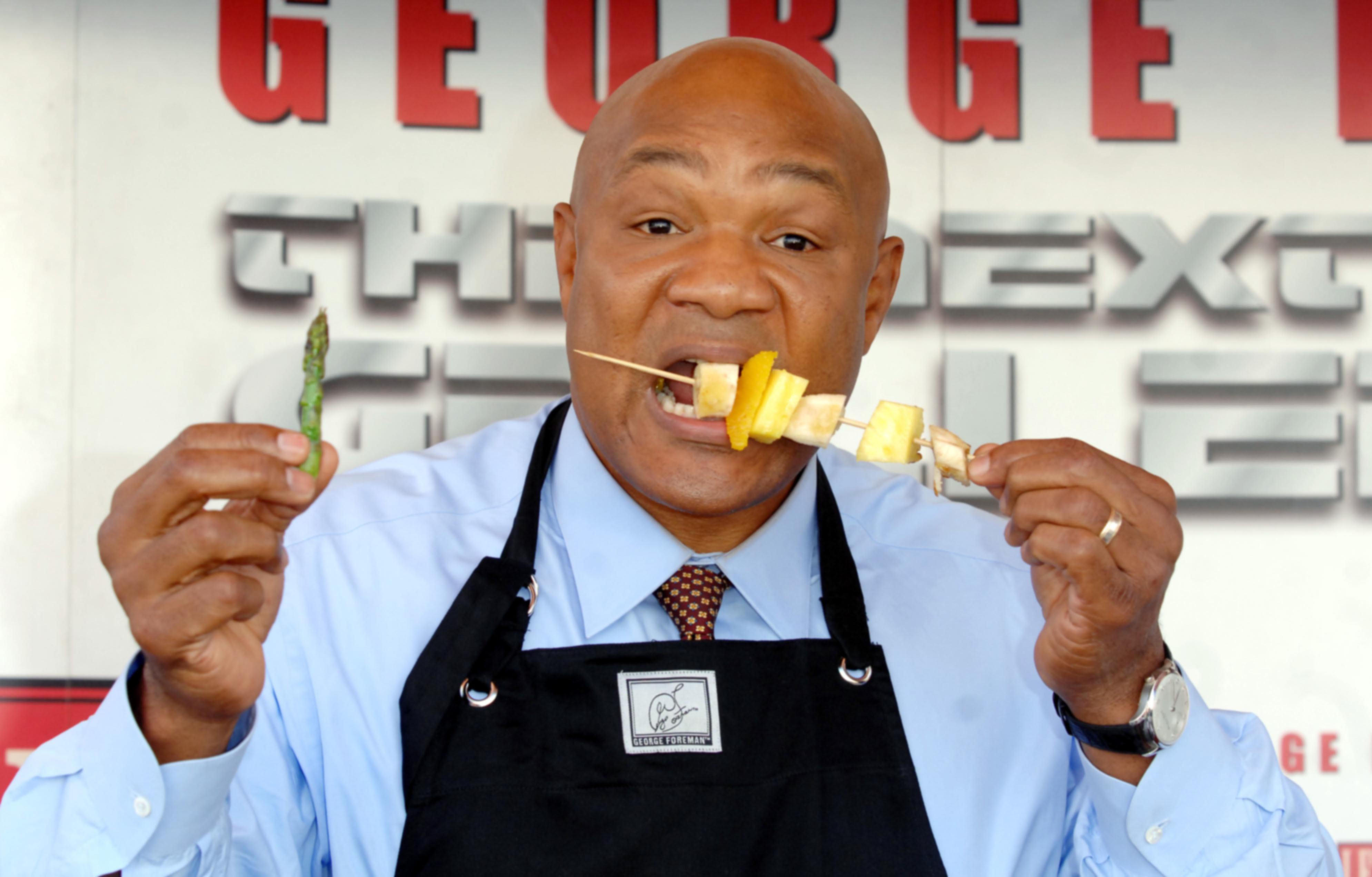 UK - The British Heart Foundation - George Foreman