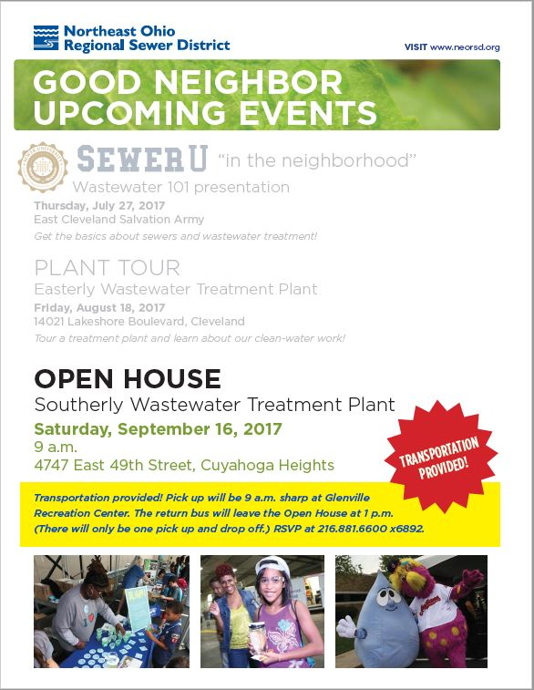NEOR Sewer District Open House