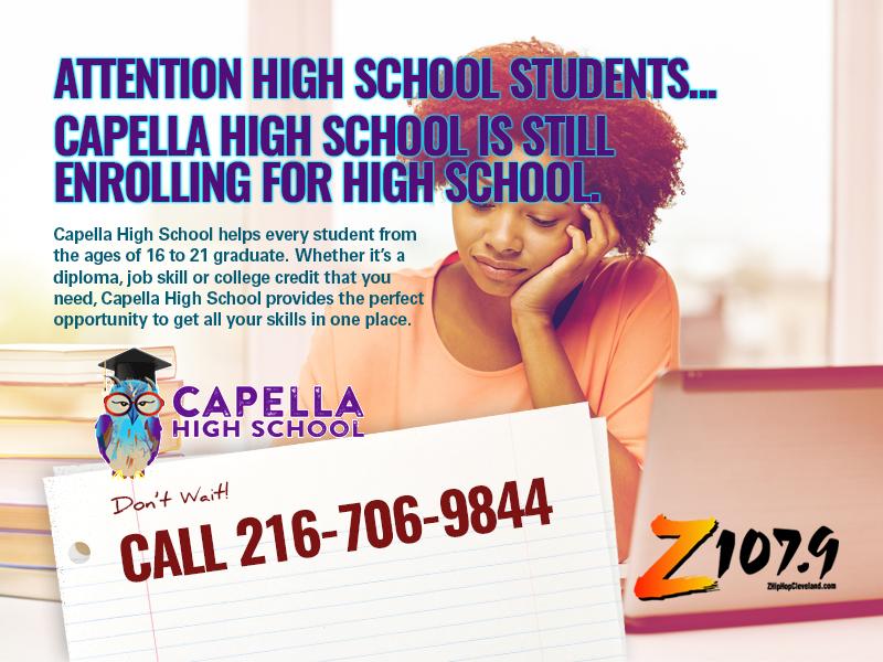 Capella High School Still Enrolling