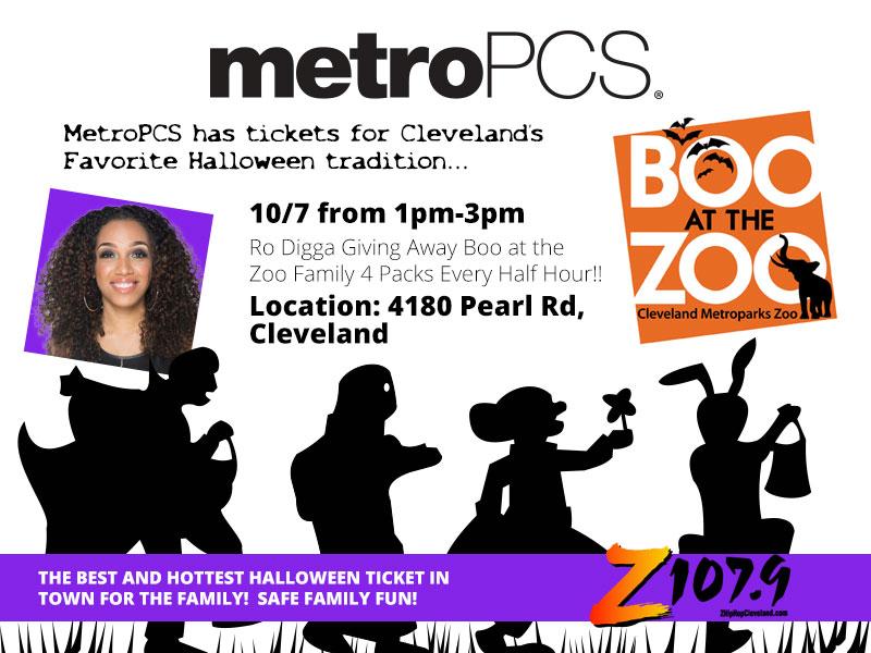 MetroPCS Boo at the Zoo