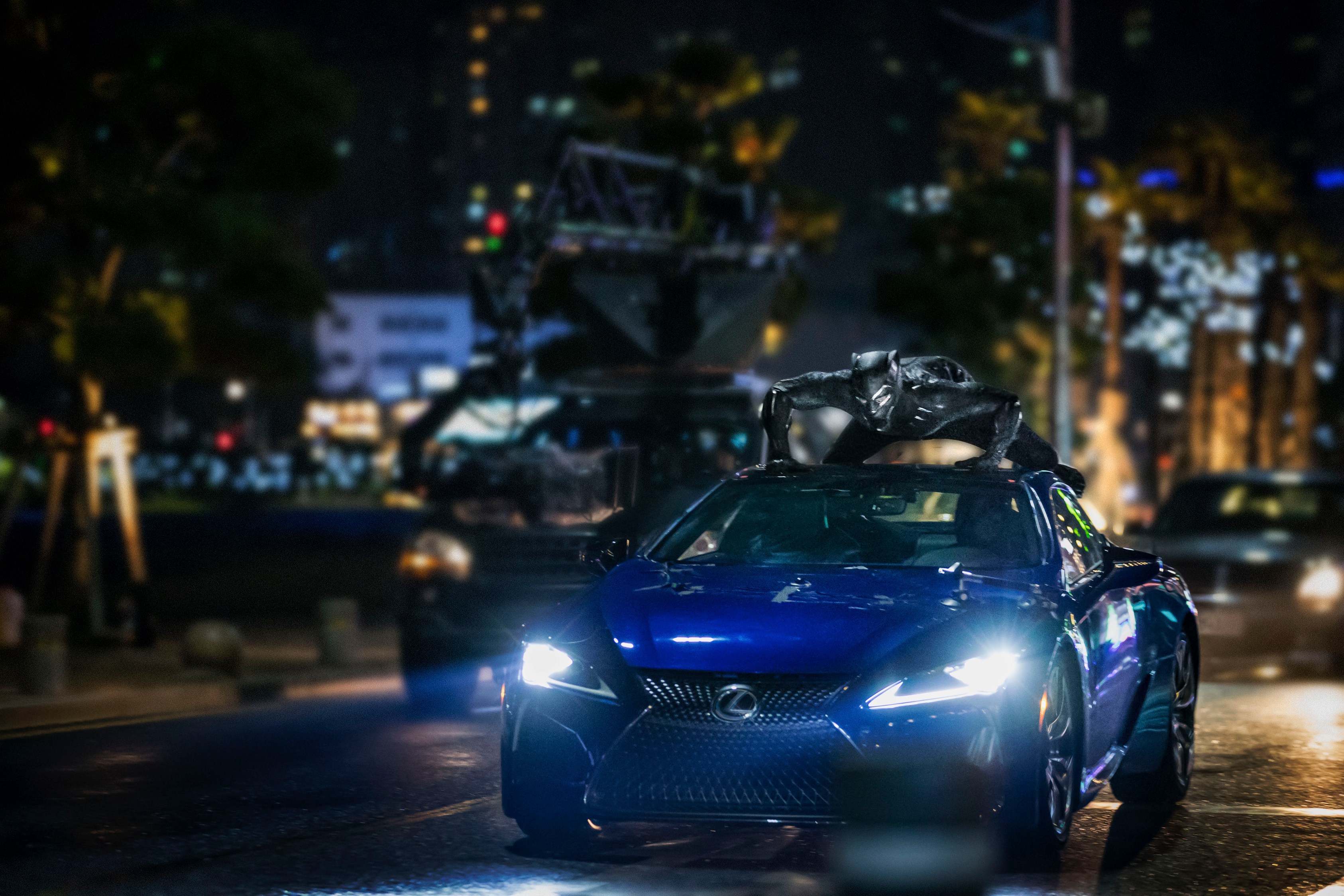 Black Panther Lexus Photo