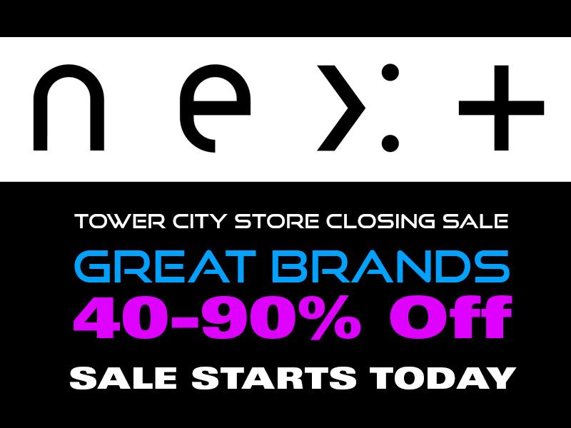 Next Tower City Closing