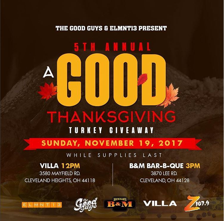 GOOD Thanksgiving Turkey Giveaway