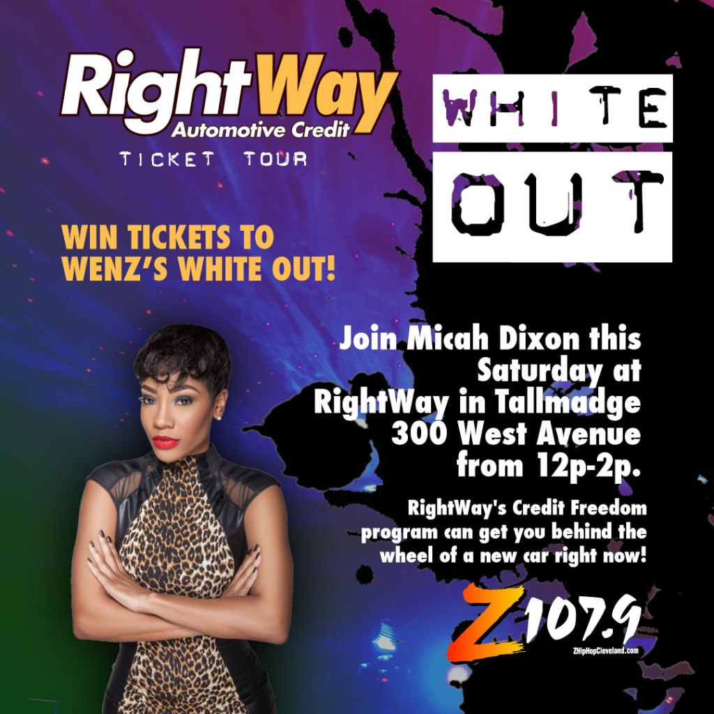 Rightway Auto White Out Ticket Tour