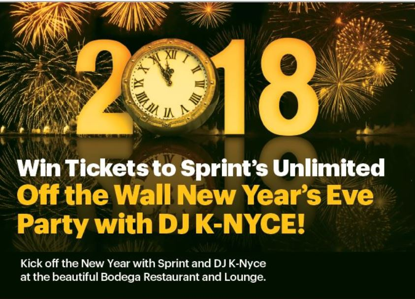 Sprint NYE Off the Wall