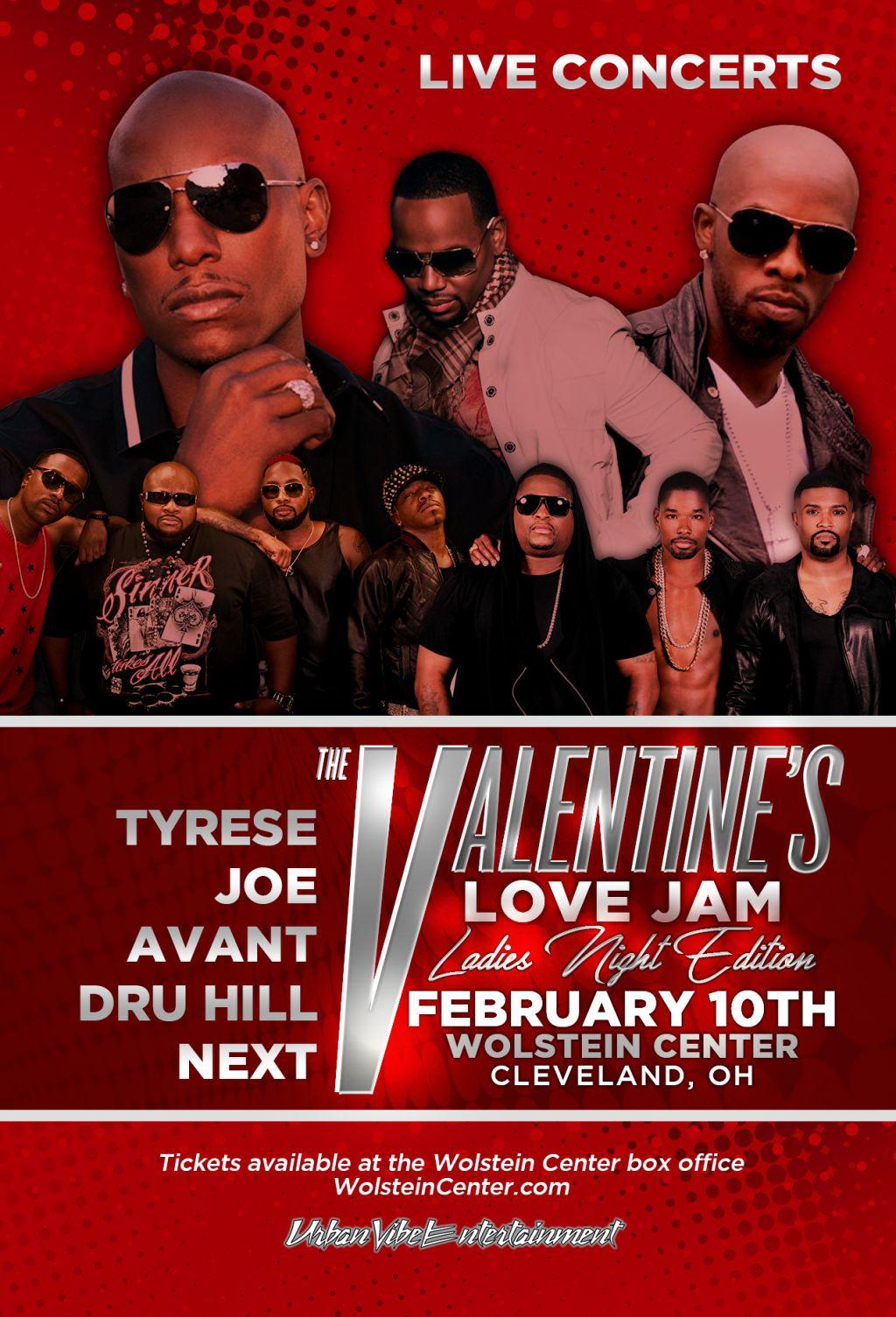 valentines day love jam
