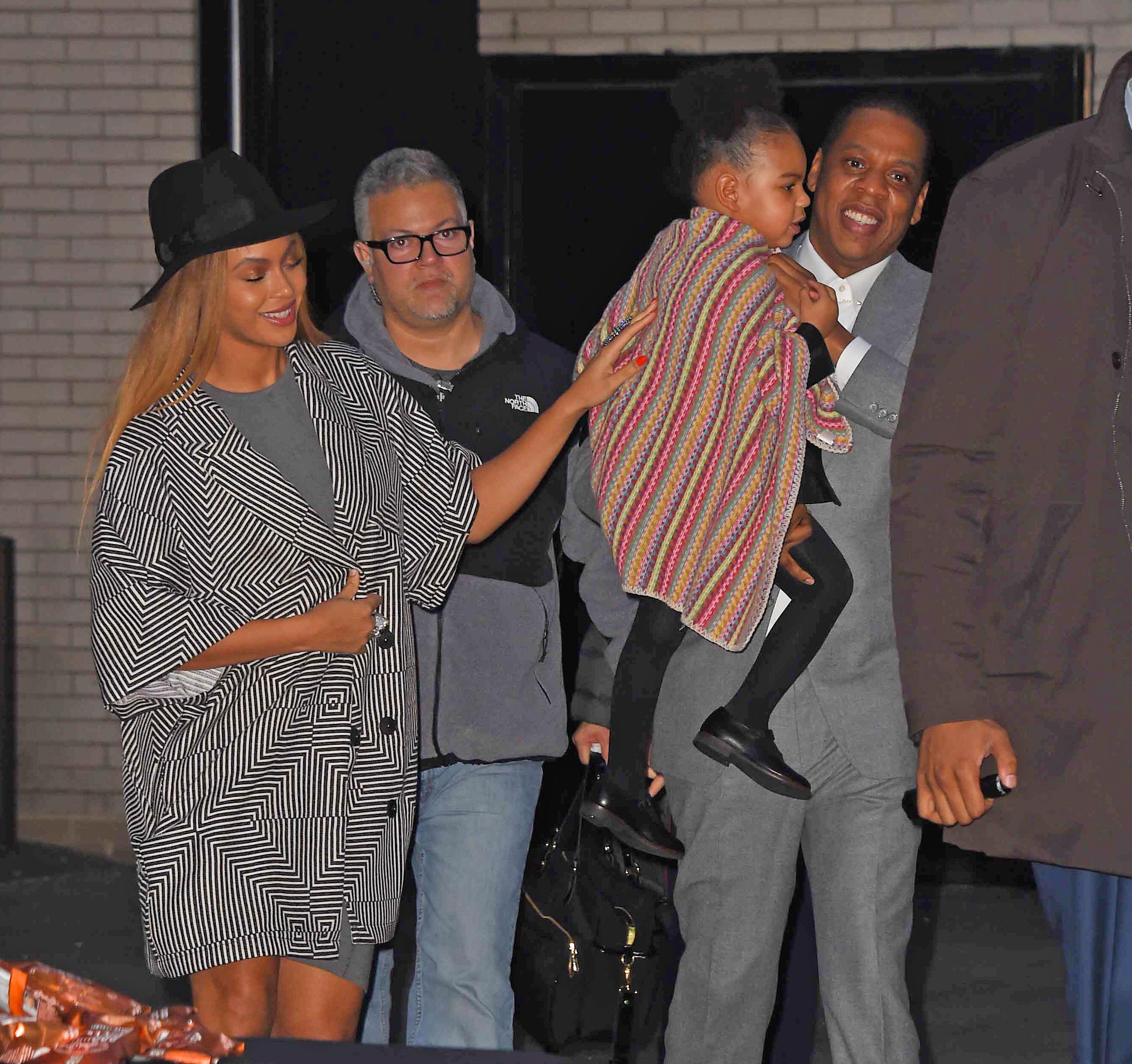 Celebrity Sightings In New York City - December 7, 2014