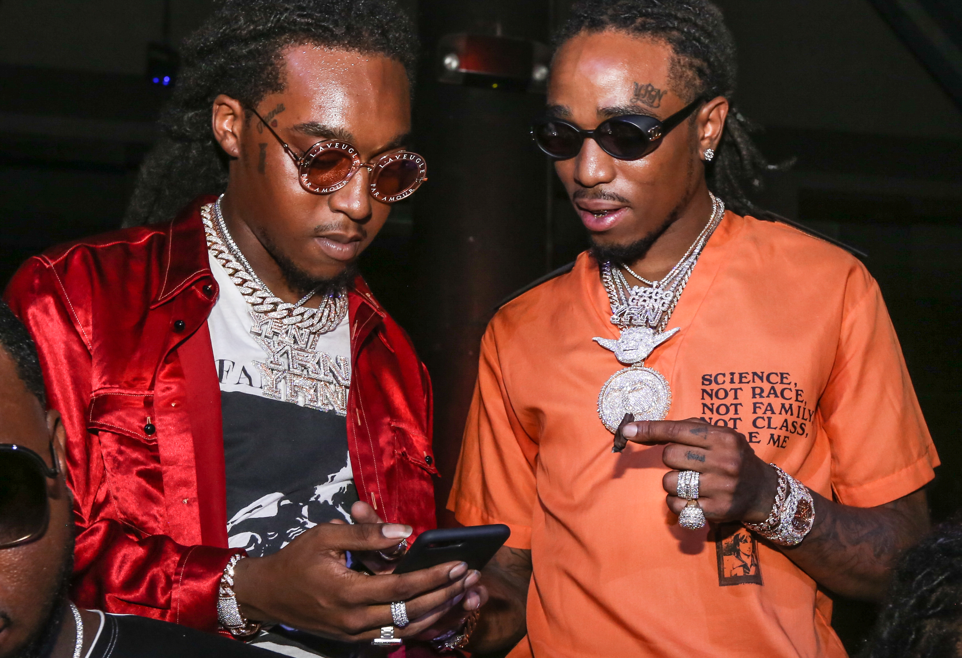 Migos Attends Story Nightclub