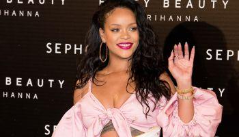 Sephona 'Fenty Beauty' Rihanna Photocall