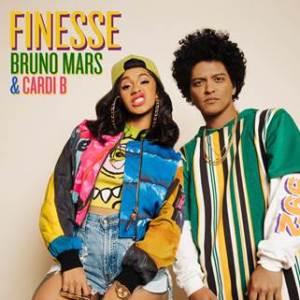 "Bruno Mars feat. Cardi B ""Finesse"" Cover Art"