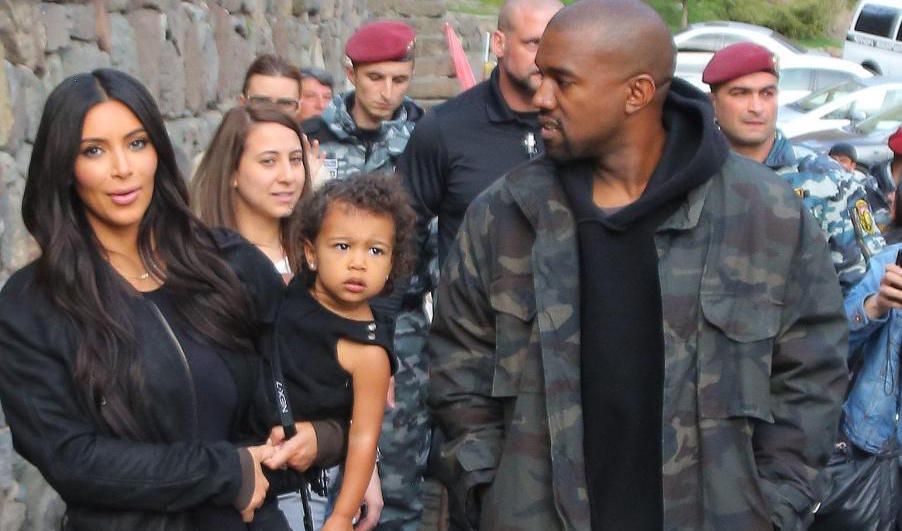 Kim Kardashian Kanye West North West in Armenia Featured Image